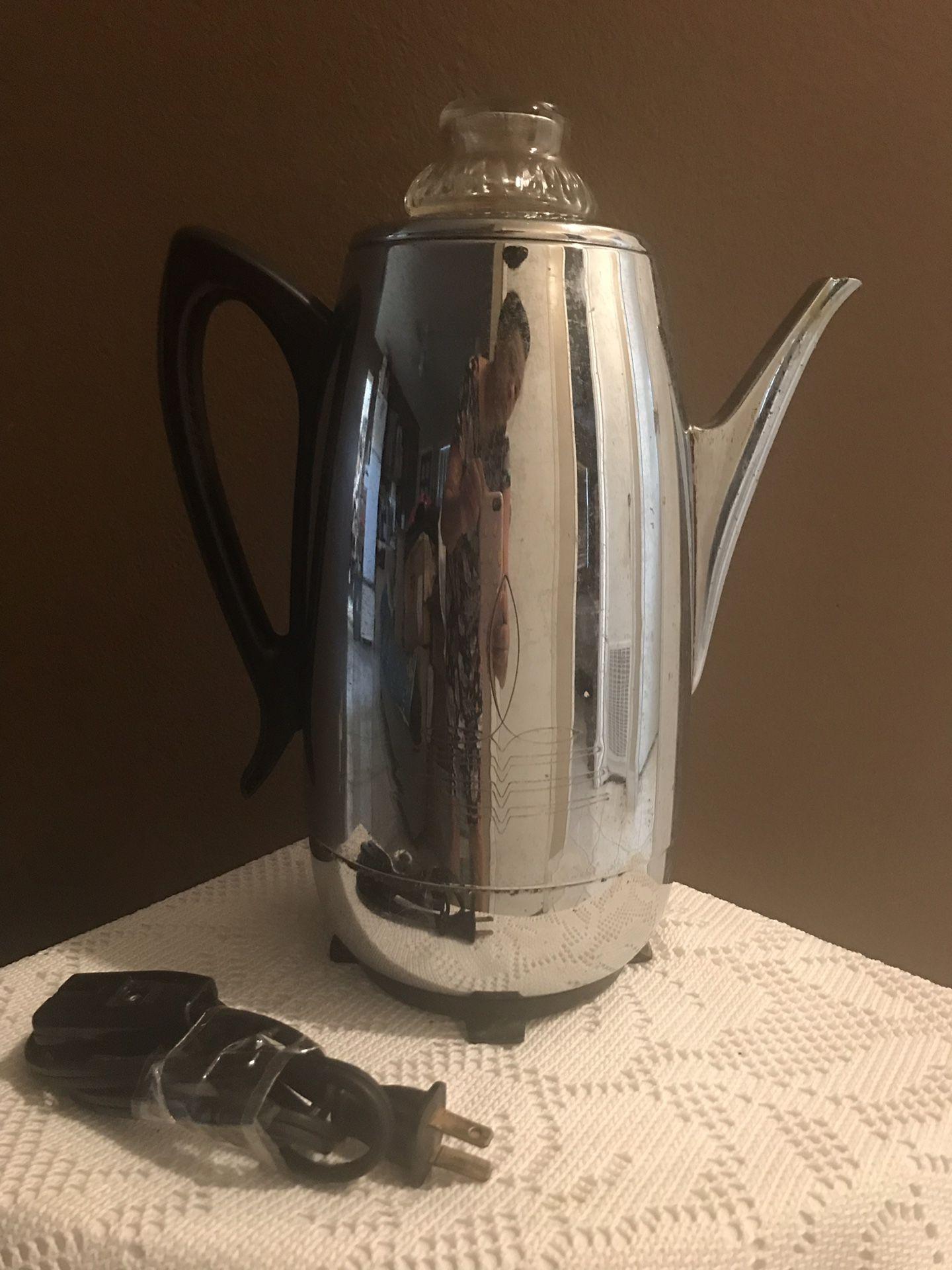 Used coffee maker