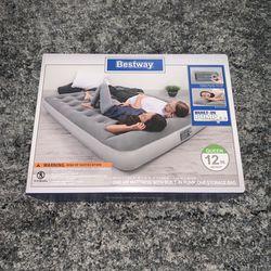 QUEEN air mattress w/ built-in a/c pump. Thumbnail