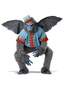 Flying monkey costume Full Body Adult Large  Thumbnail
