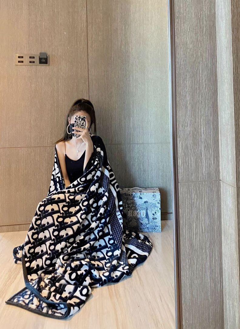 Christian Dior Blanket - 150cm by 200cm