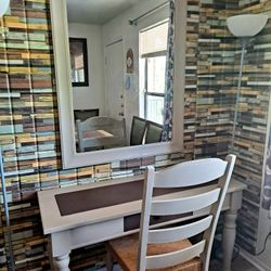 Console Table With Chair And Mirror Thumbnail