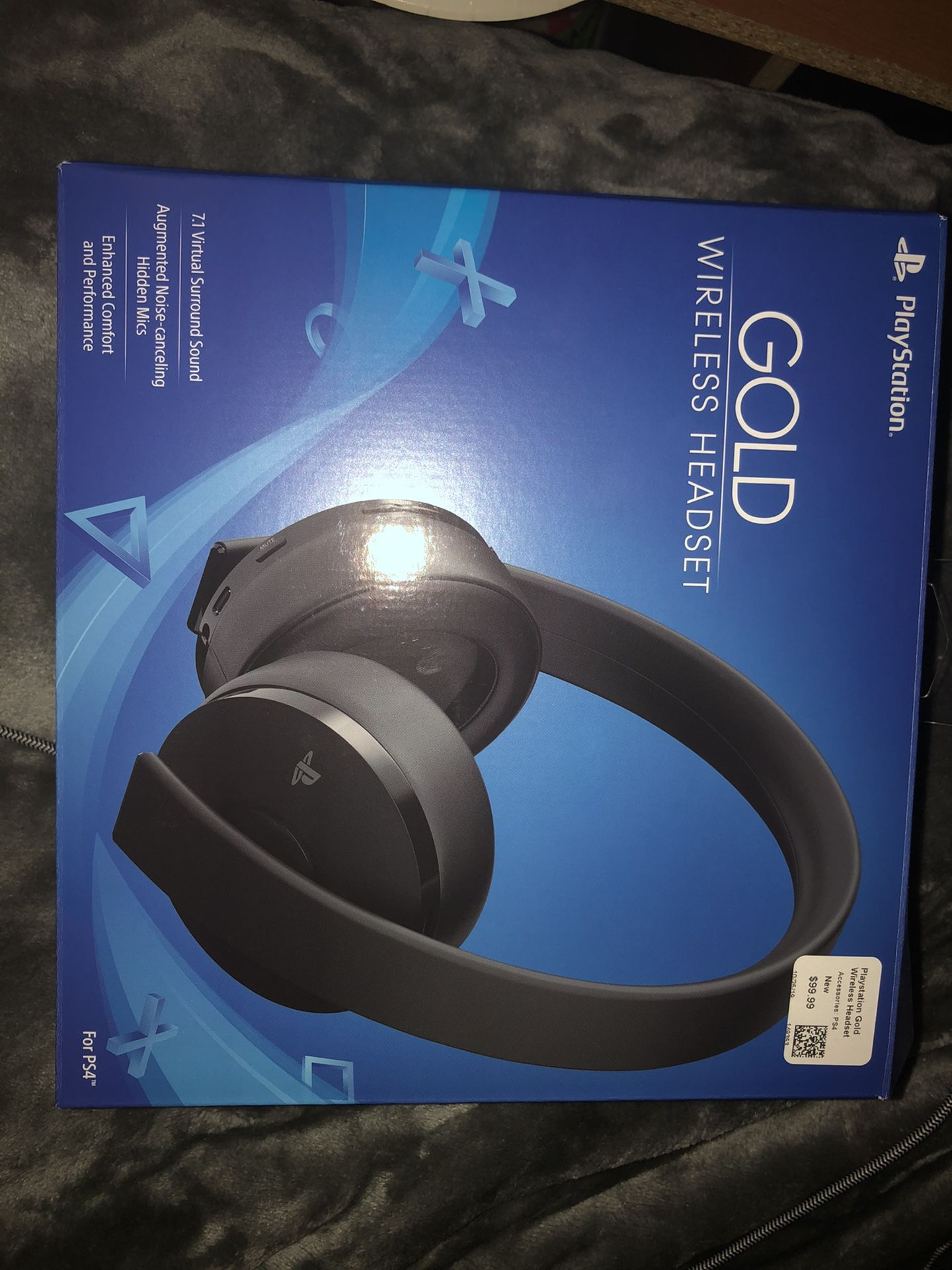 PlayStation Gold Wireless Headphones