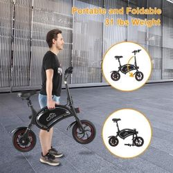 Folding Electric Bike, with 250W Motor and 6 Ah Lithium Battery Thumbnail