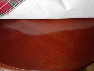 Solid cherry table and 6 chairs Thumbnail