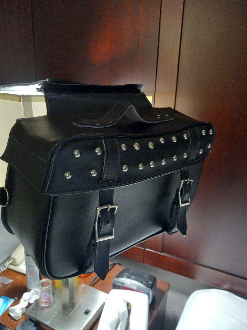 Leather Saddle Bags  75