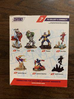 Zoteki Connect & Create Diorama Marvel Avengers CAPTAIN AMERICA NIB MINT RARE!! Thumbnail