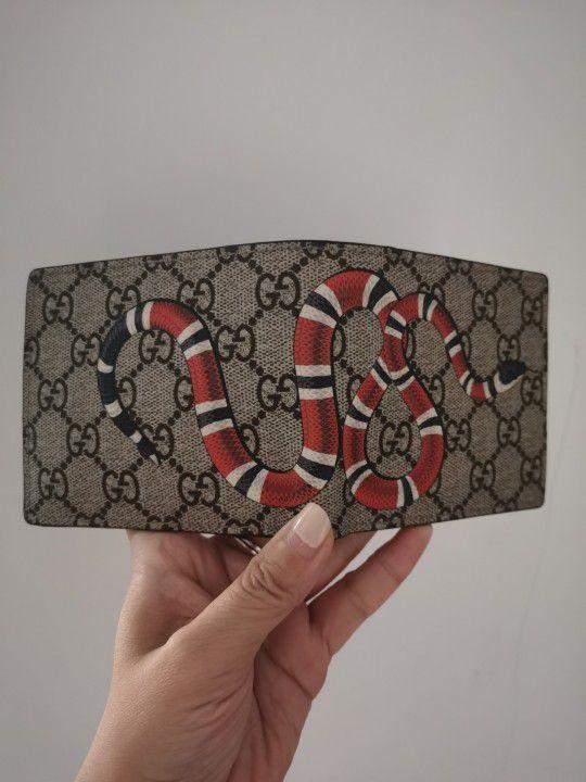 GG Supreme Snake wallet