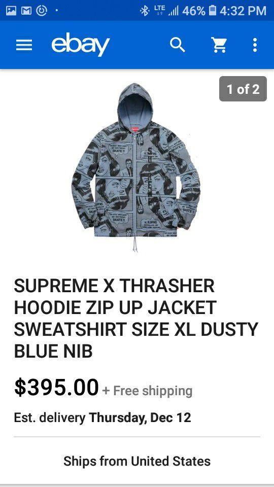 Supreme size L
