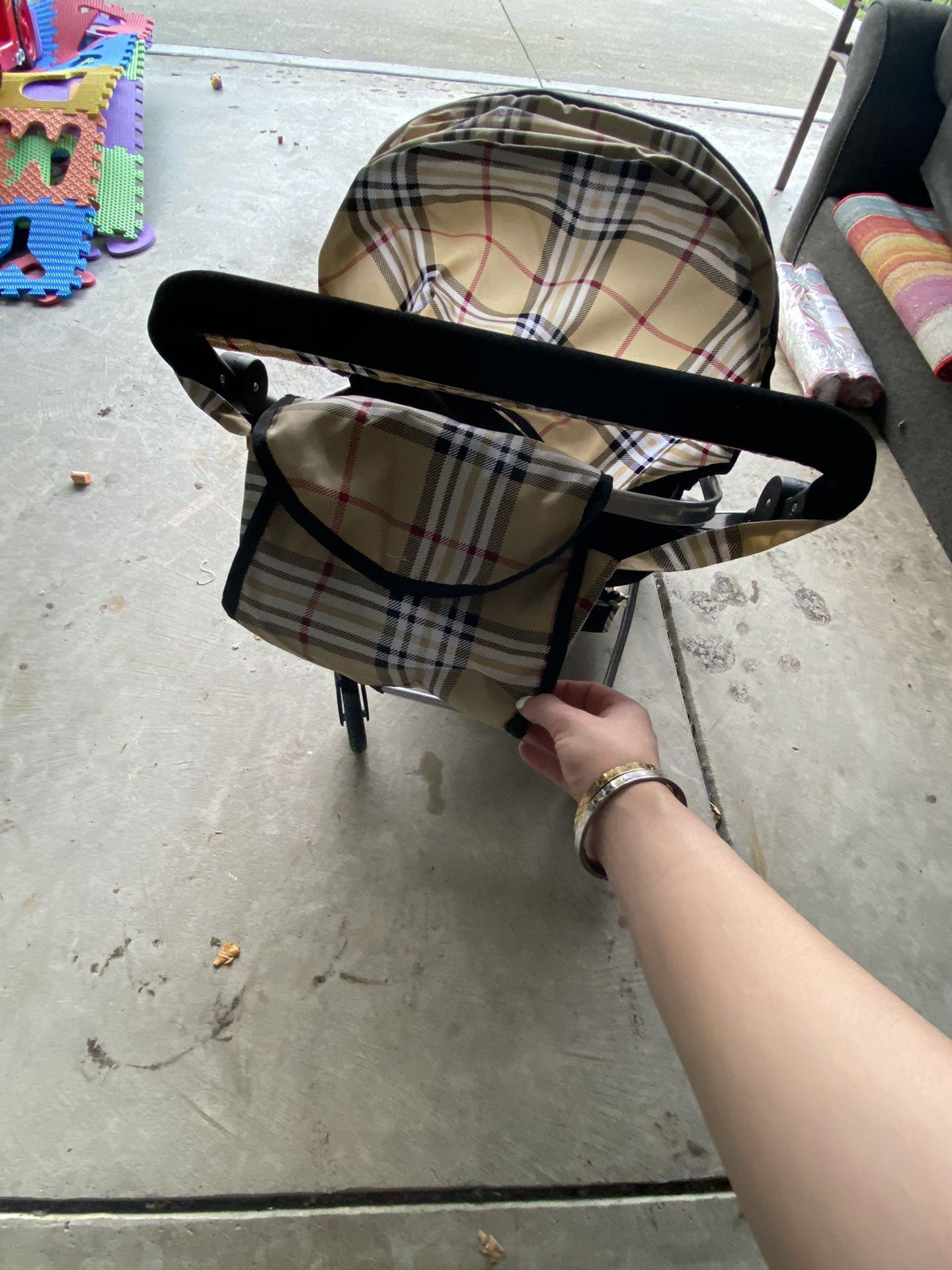 Baby Doll / puppy dog stroller