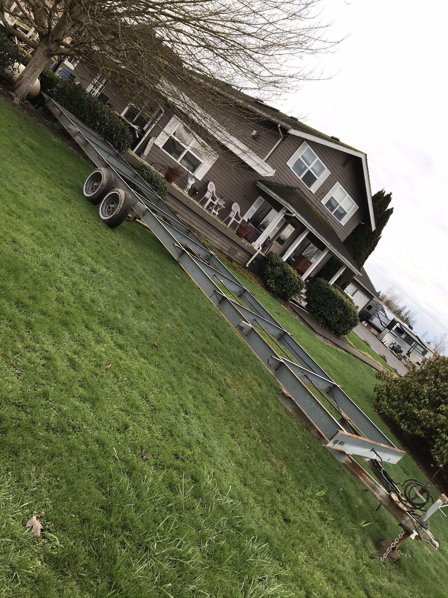 35 foot tiny house or car hauler trailer