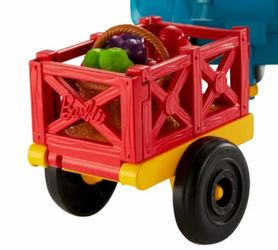 Barbie Sweet Orchard Farm Tractor And Wagon Thumbnail