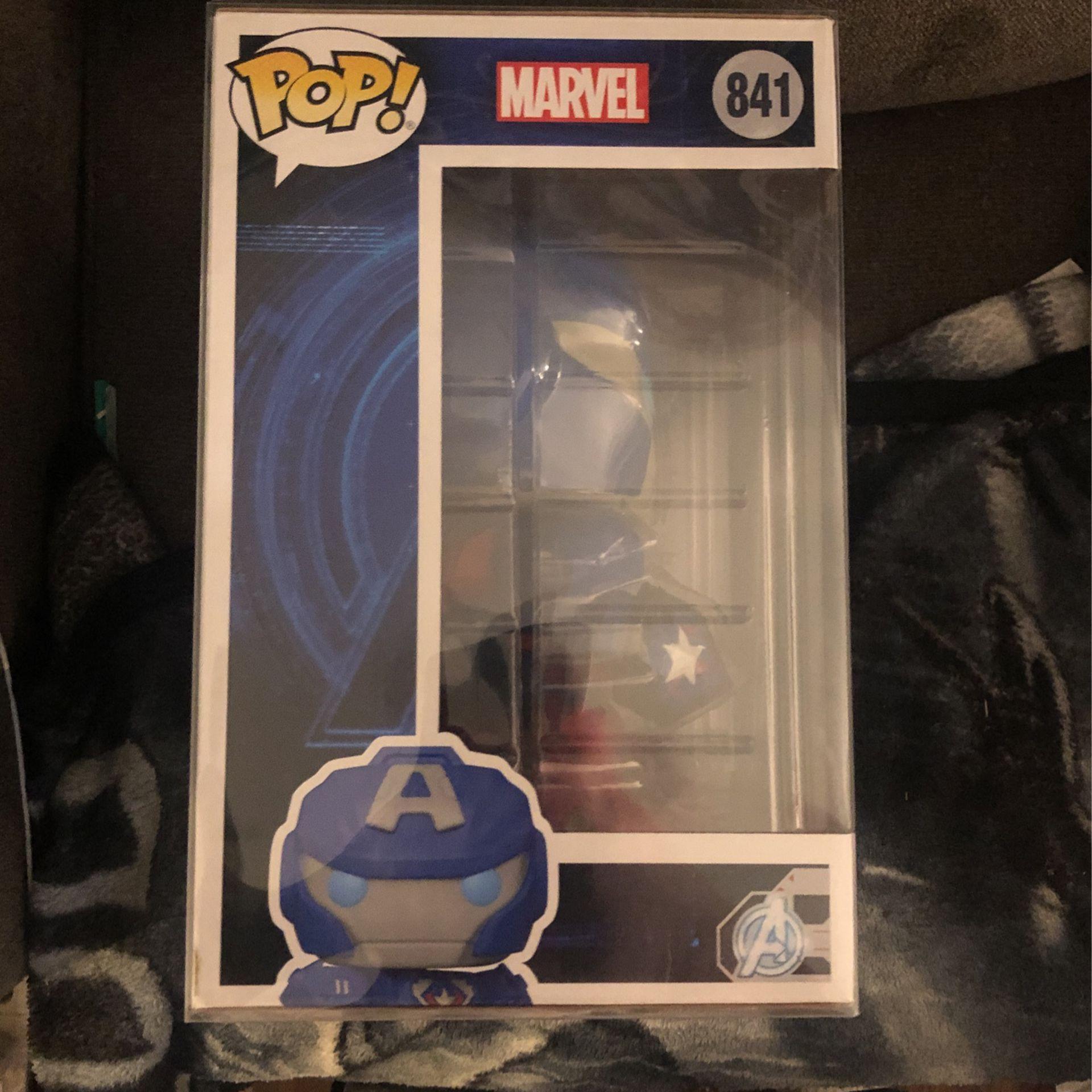 Funko Pop #841 10-inch Captain America