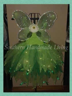 Light up Tinkerbell Tutu Dress Thumbnail
