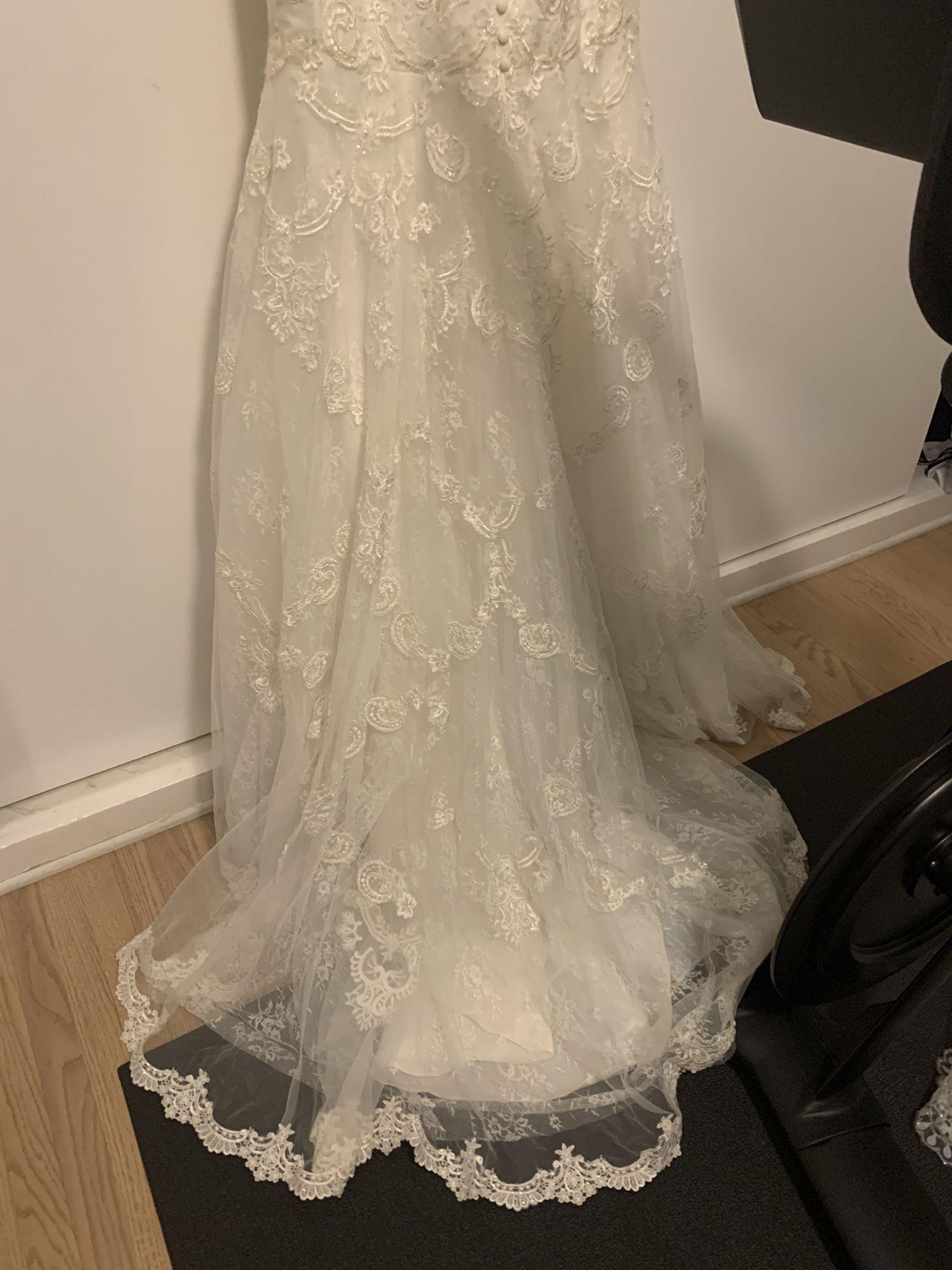 Galina Wedding Dress Size 6