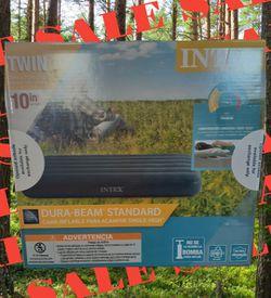 NIB INTEX Dura-Beam Standard TWIN Camping Mattress Thumbnail