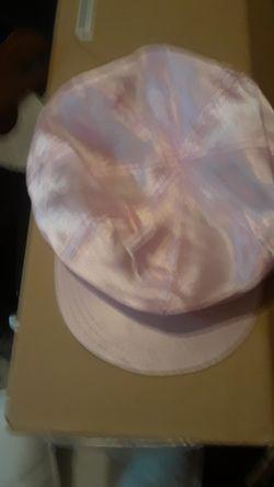 Brand new satin pink hat Thumbnail
