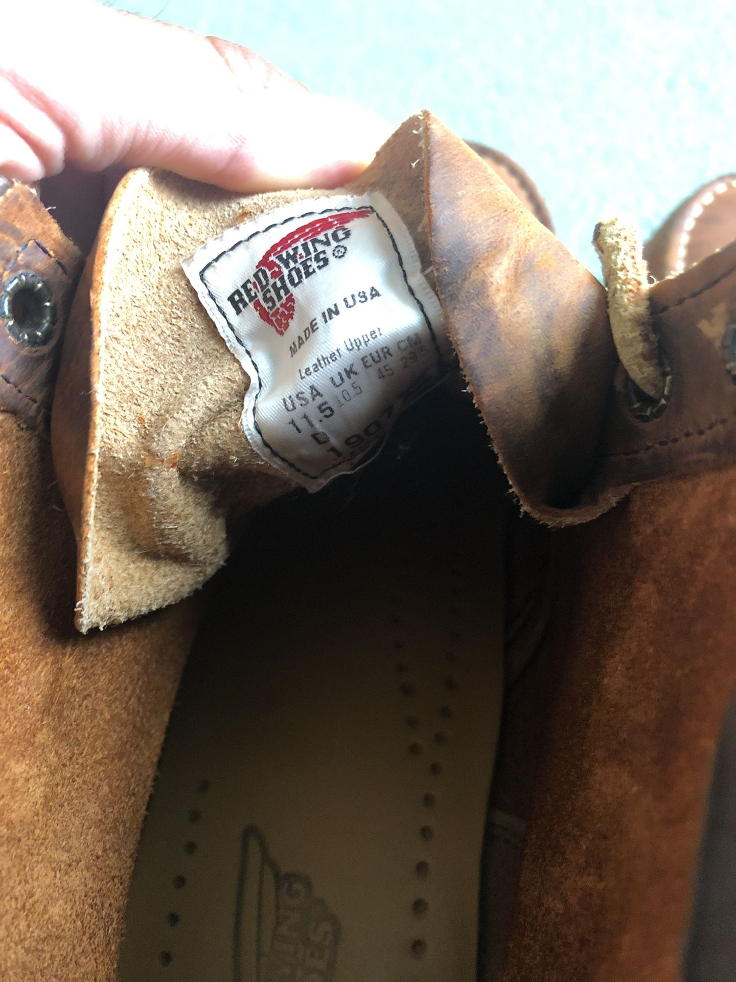 Classic RedWing 6in Boot (size 11.5 men's)