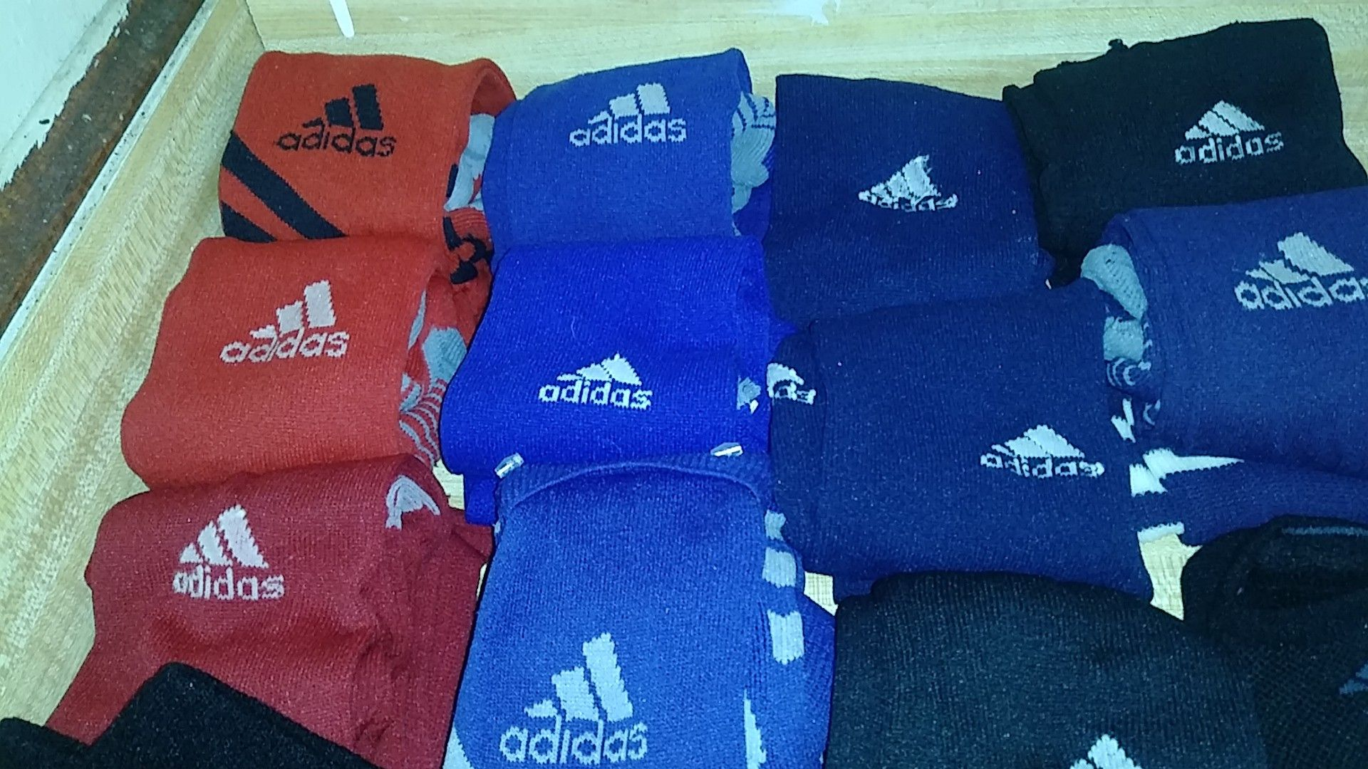 Adidas socks assorted colors and size