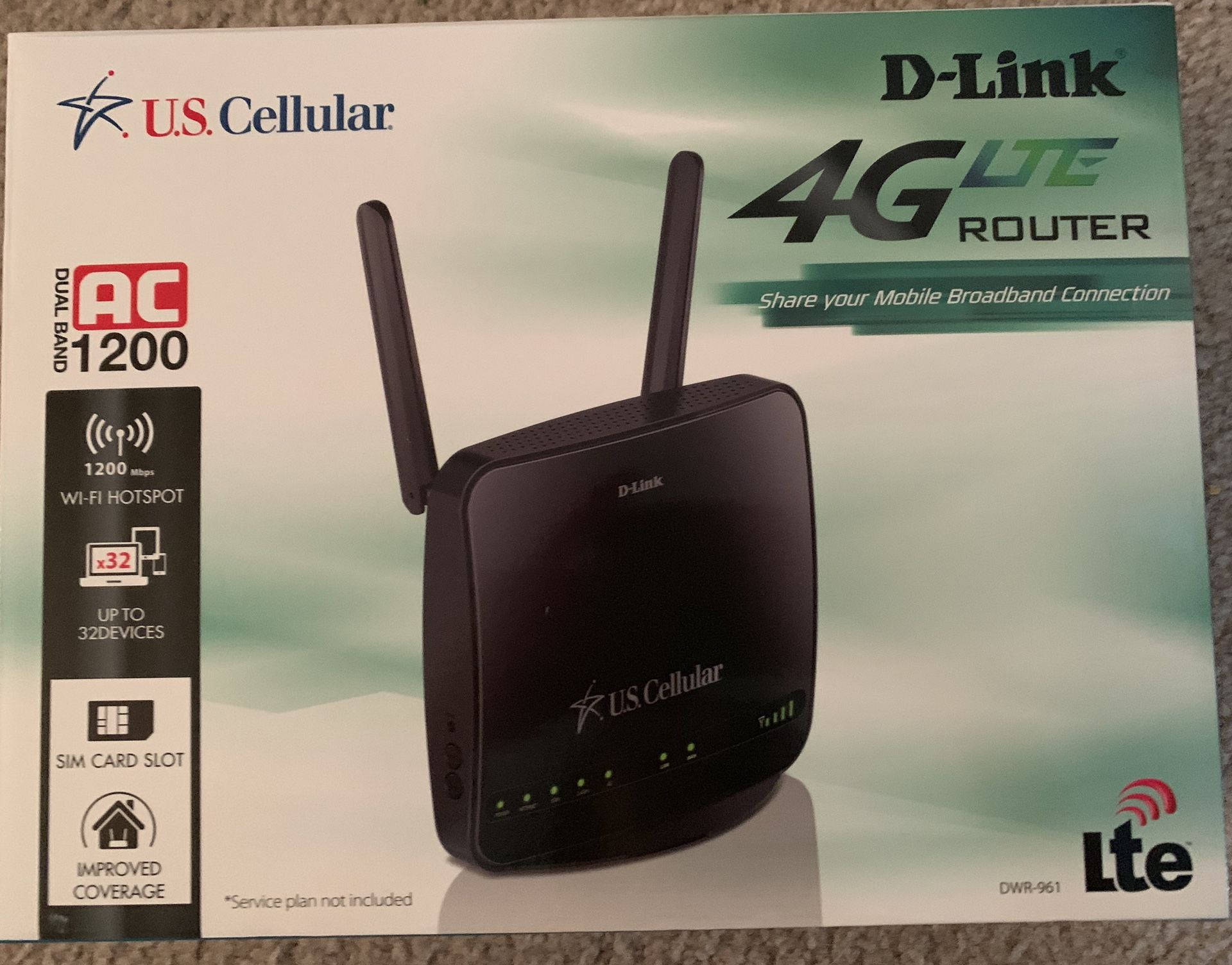 US CELLULAR D-Link (WiFi router)