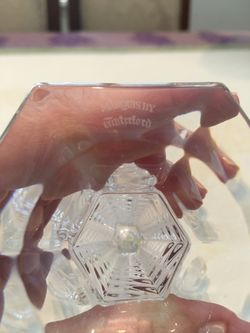 Waterford Crystal Candle Sticks  Thumbnail