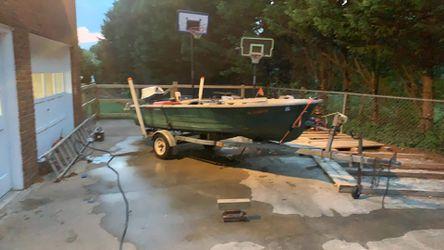14ft V-Haul John boat  Thumbnail