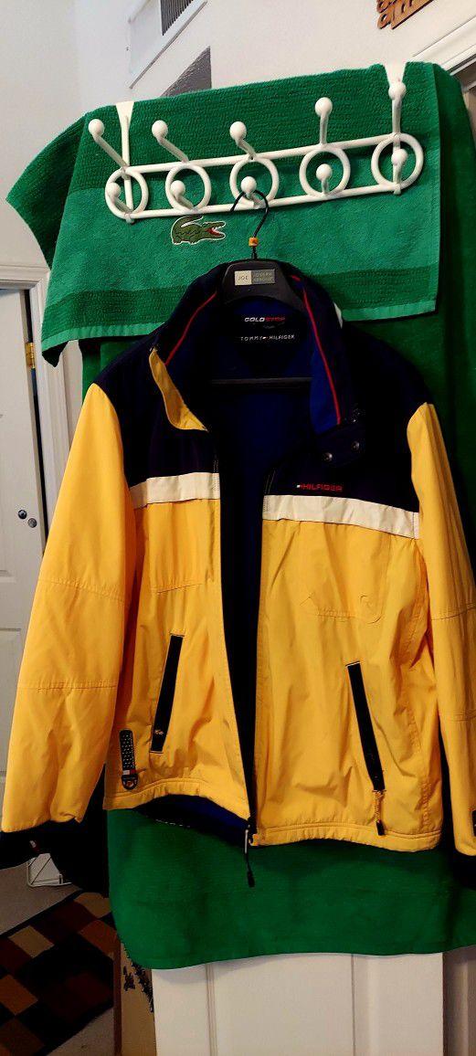 Tommy Hilfiger Yellow Mens Jacket