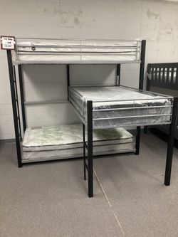 Brand New Kids Bunk Beds In Stock!! Low As $39 Down !! Thumbnail