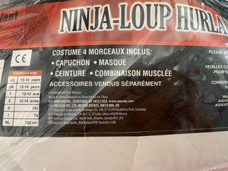 Howling wolf ninja , Ninja Lobo Aullador Thumbnail