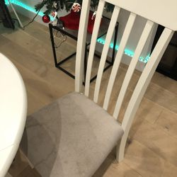 2 Chairs - Ashley Slannery Dining Room Chair, White Thumbnail