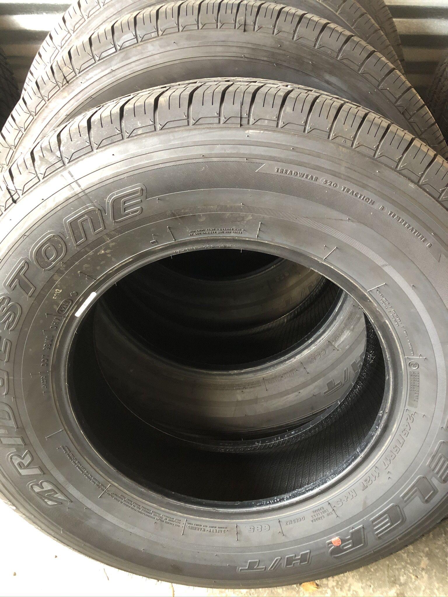 Bridgestone Dueler HT 245/75/17 year 2021