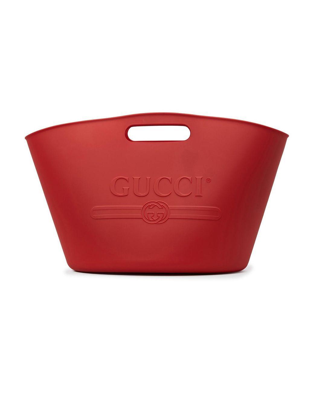 Gucci rubber tote bag