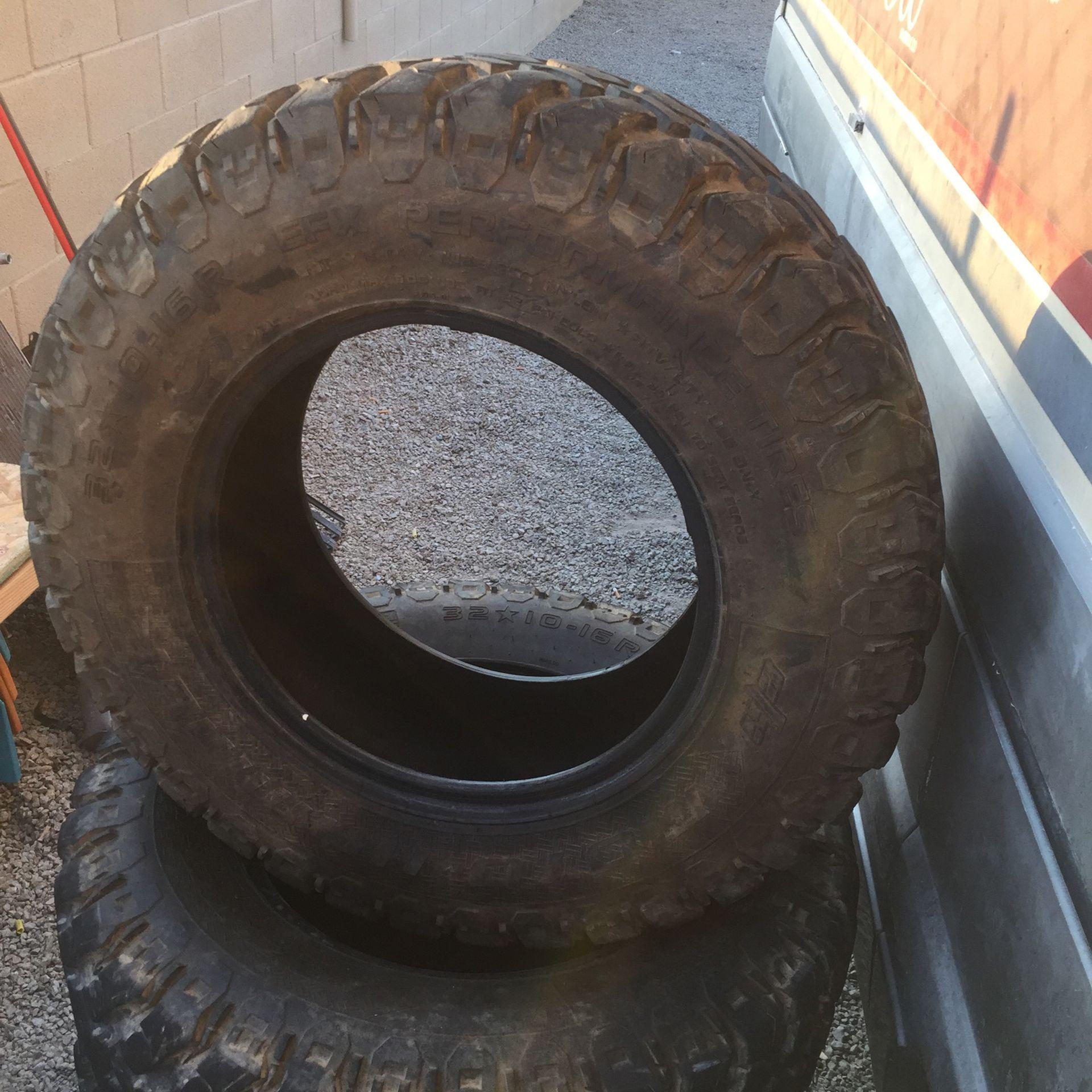 32 10 16 R E Fx Performance Tires