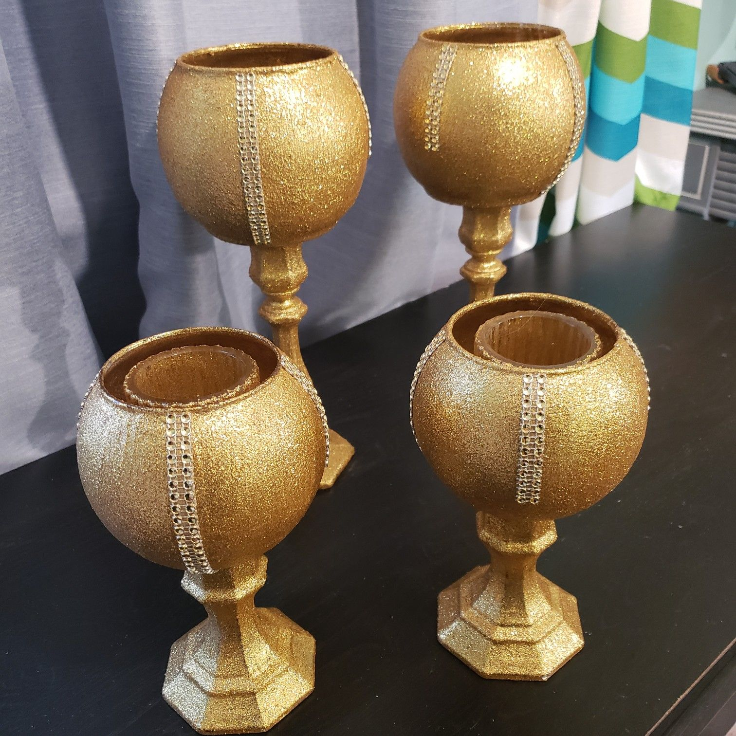 Gold Candle Holders