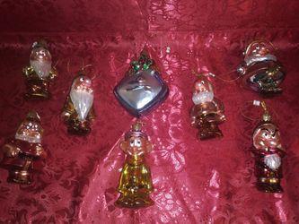 Christmas Ornaments (Snow White & The 7 Dwarfs) Thumbnail