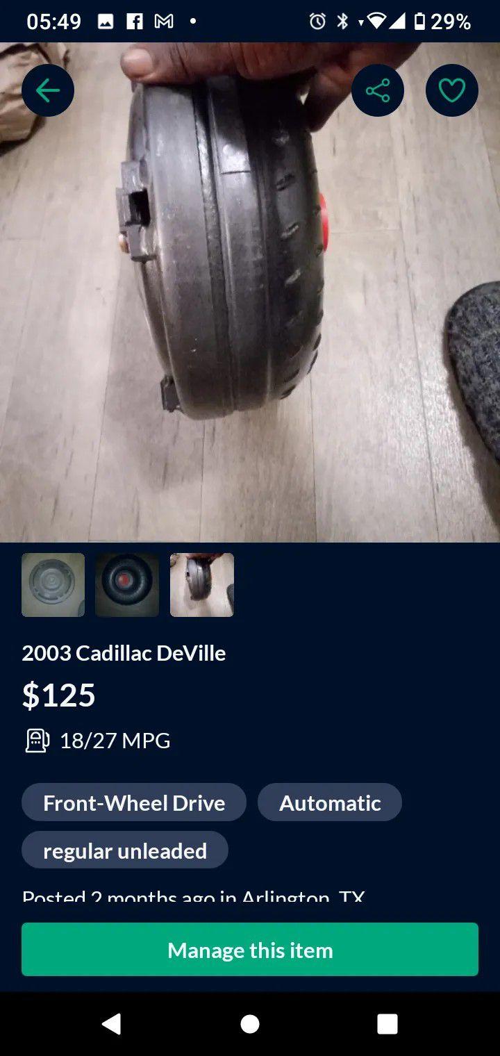 Torque Converter   Cadillac De Ville DTS