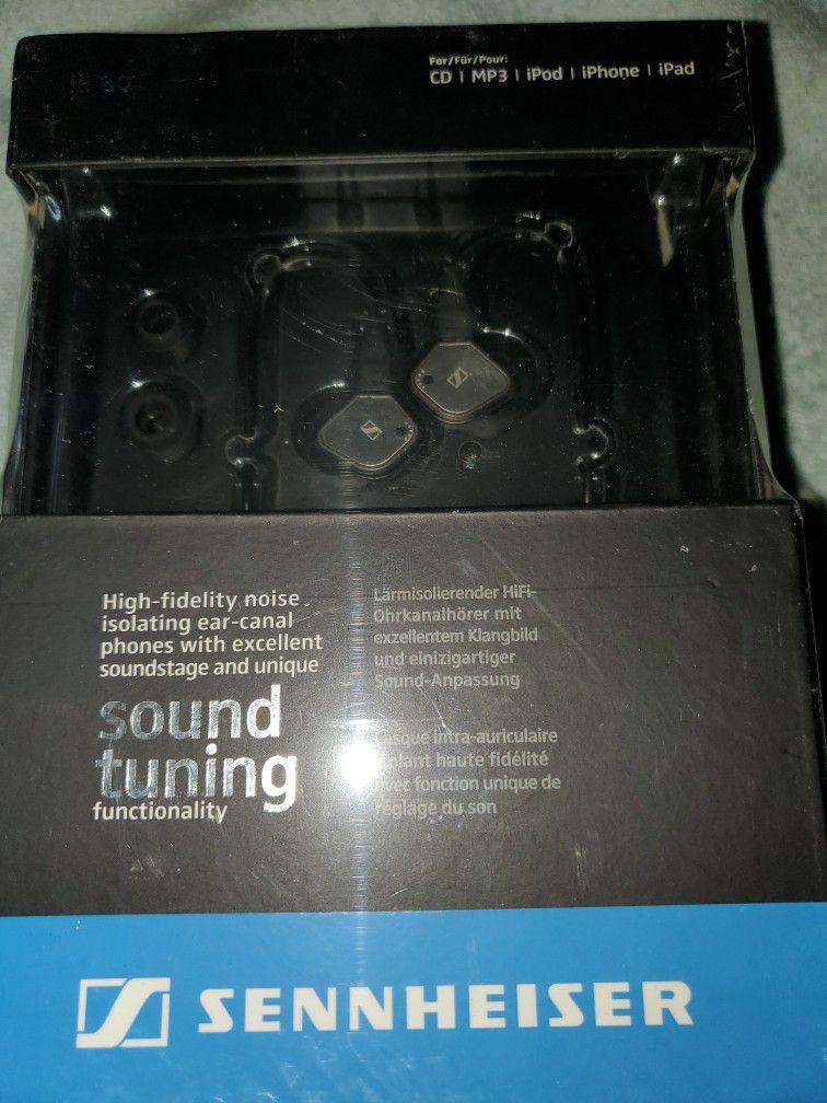 Sennheiser IE80 in ear headphones