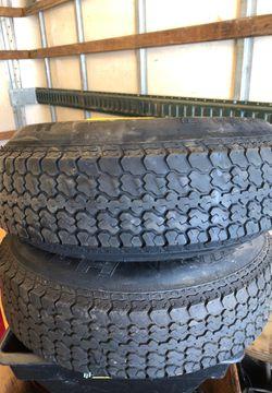 Utility trailer tires Thumbnail