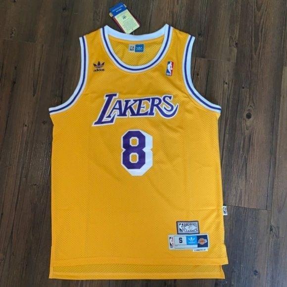 ★Kobe Bryant Throwback Lakers #8 Jersey