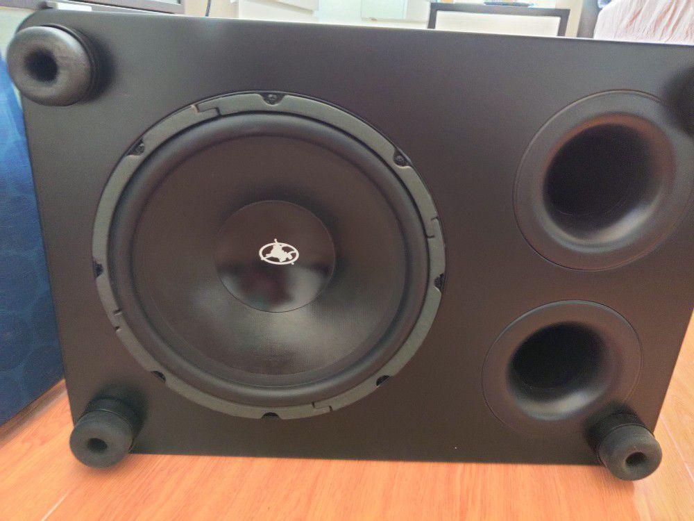 Outlaw Audio Ultra-X12 Subwoofer.  Svs, Hsu Research, Klipsch, Polk, Jbl, Kef, Parasound, Emotiva,