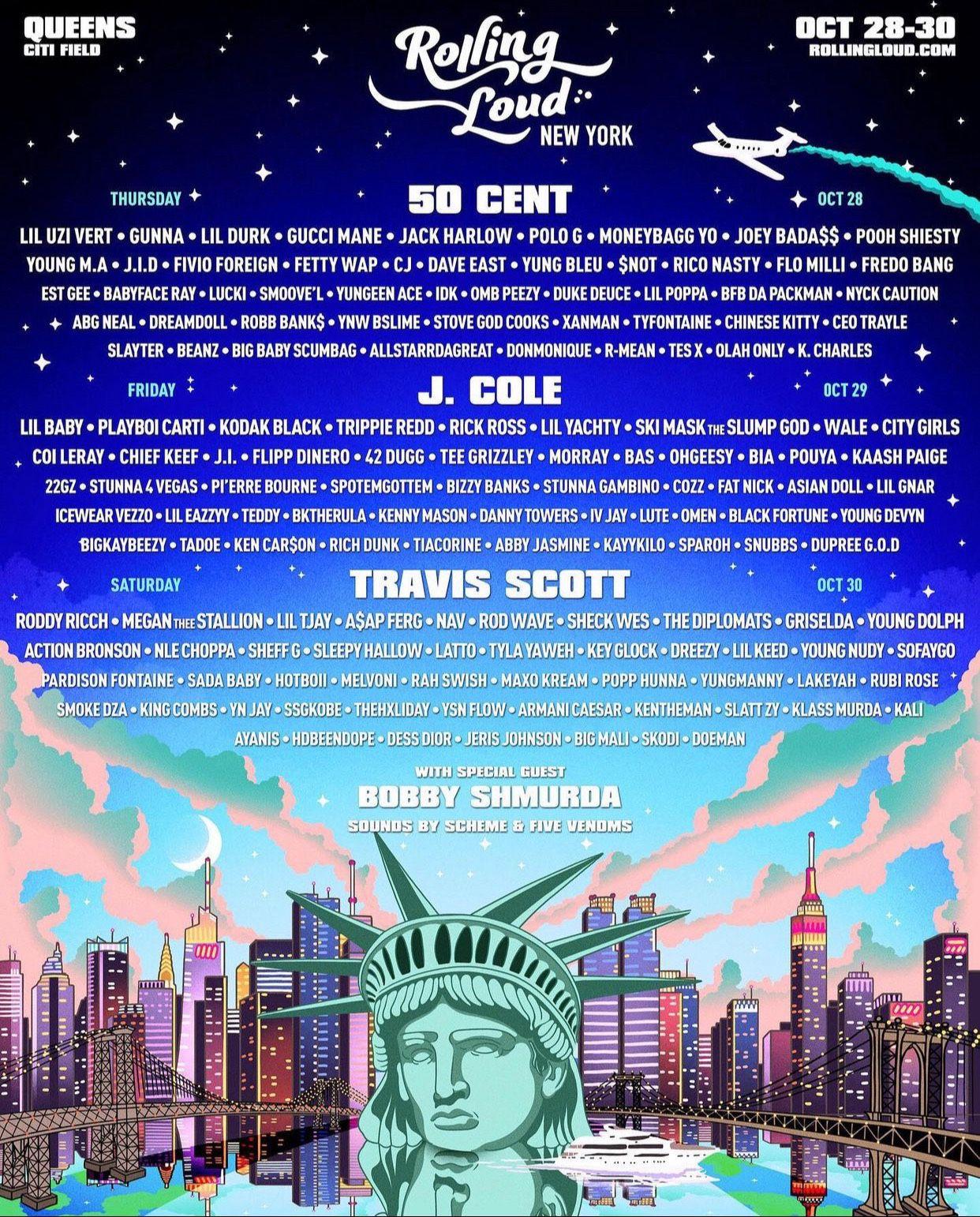Rolling Loud New York (2 Tickets)