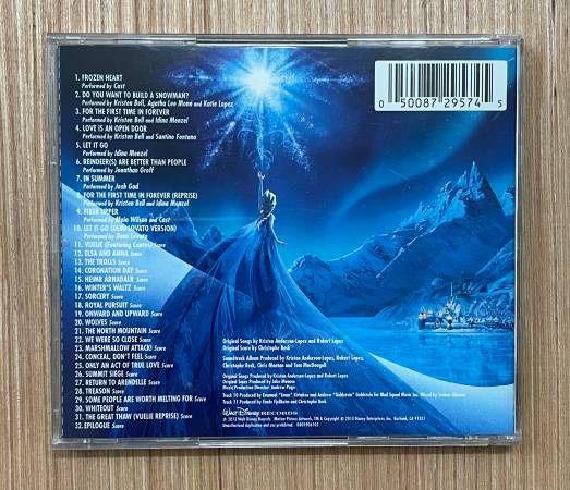 Frozen Original Motion Picture Soundtrack CD