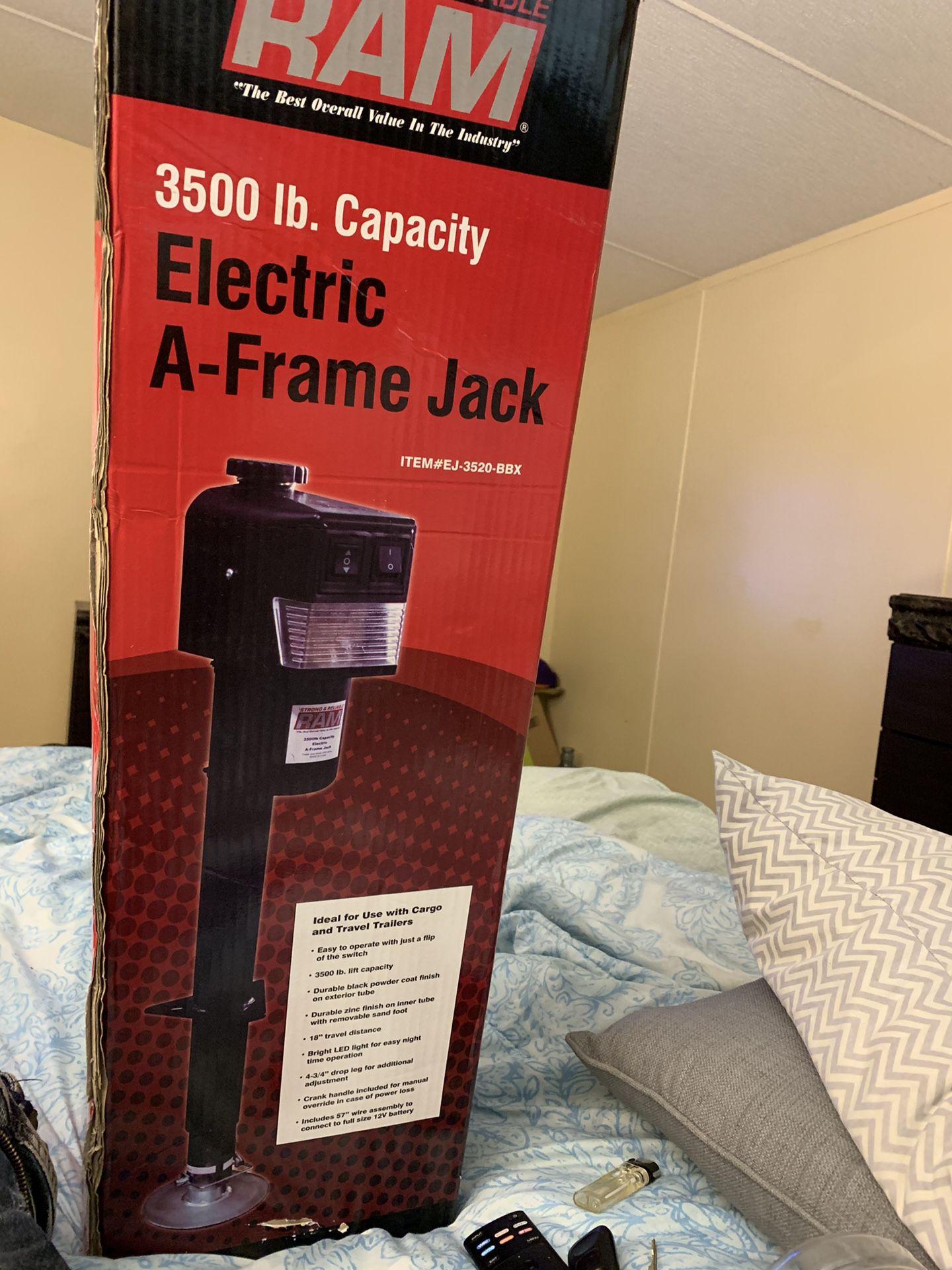 TRAILER: A-Frame Jack 3500 lbs Capacity