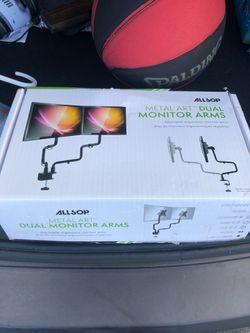 Dual monitor arms Thumbnail