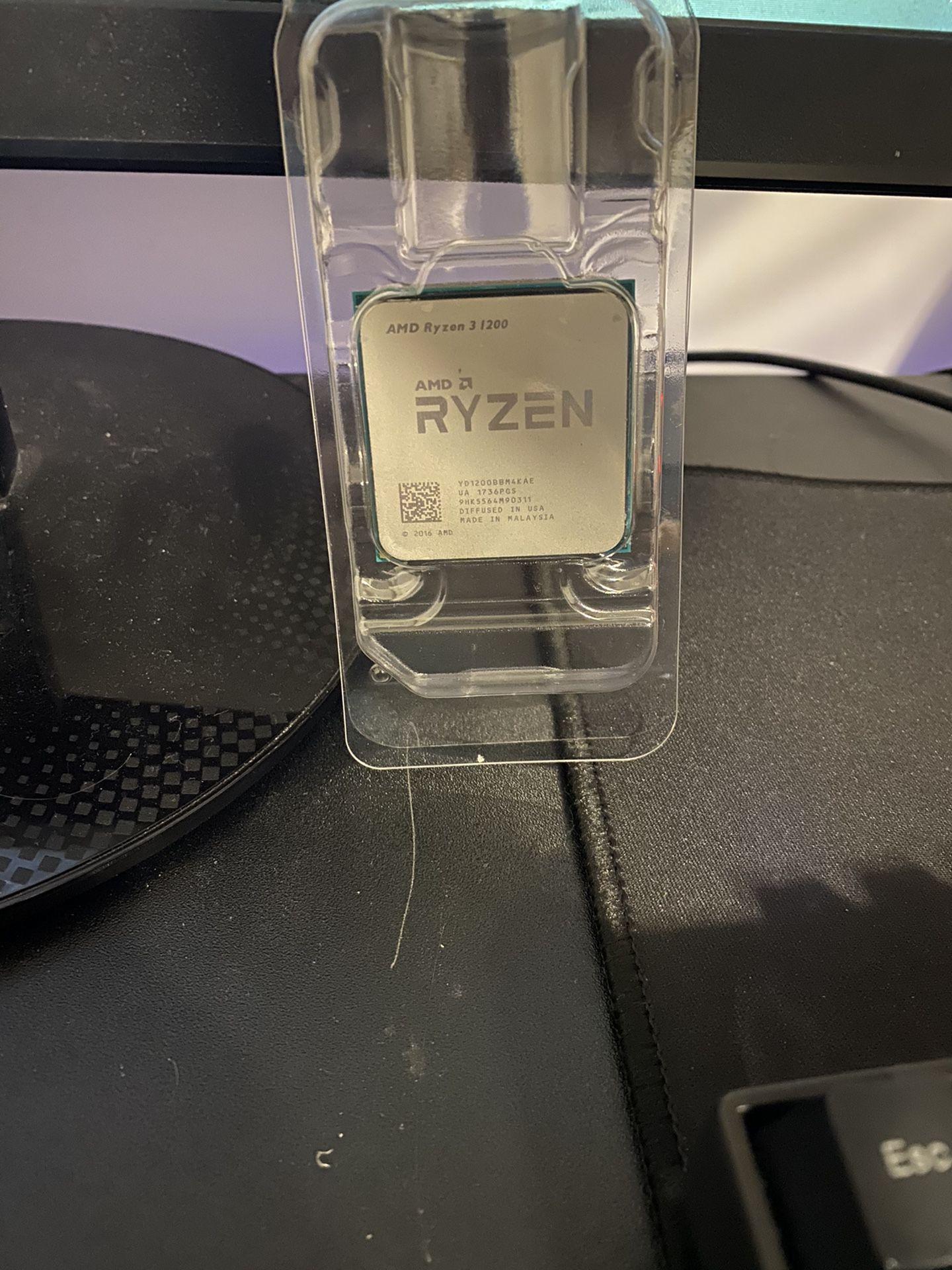 Ryzen 3 1200 with cooler master cooler