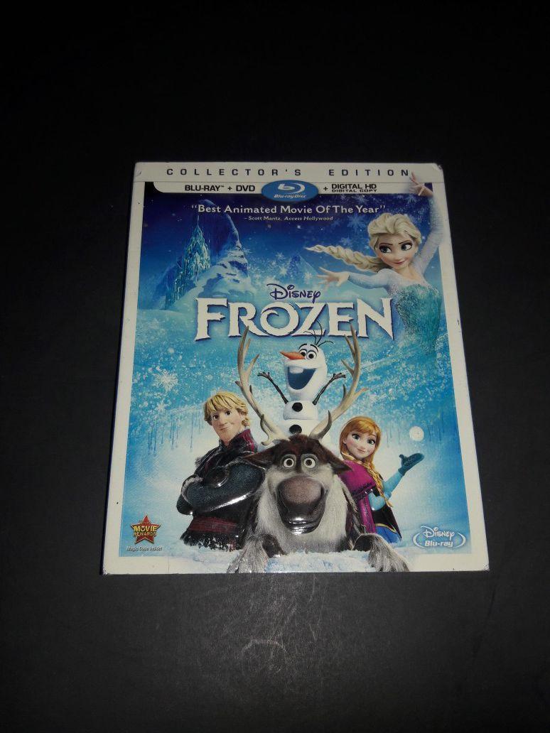 Frozen, Ride Along, Minions Blu Ray Disc x3