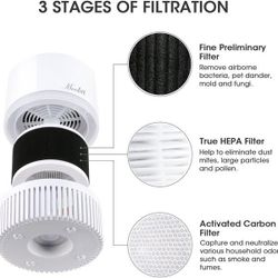 Mooka EPI810 3-in-1 True HEPA Air Purifier for Home Thumbnail