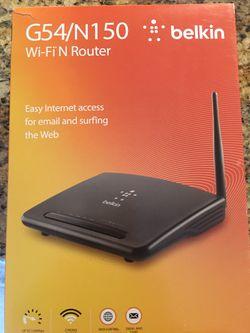 Belkin Wireless Router Thumbnail