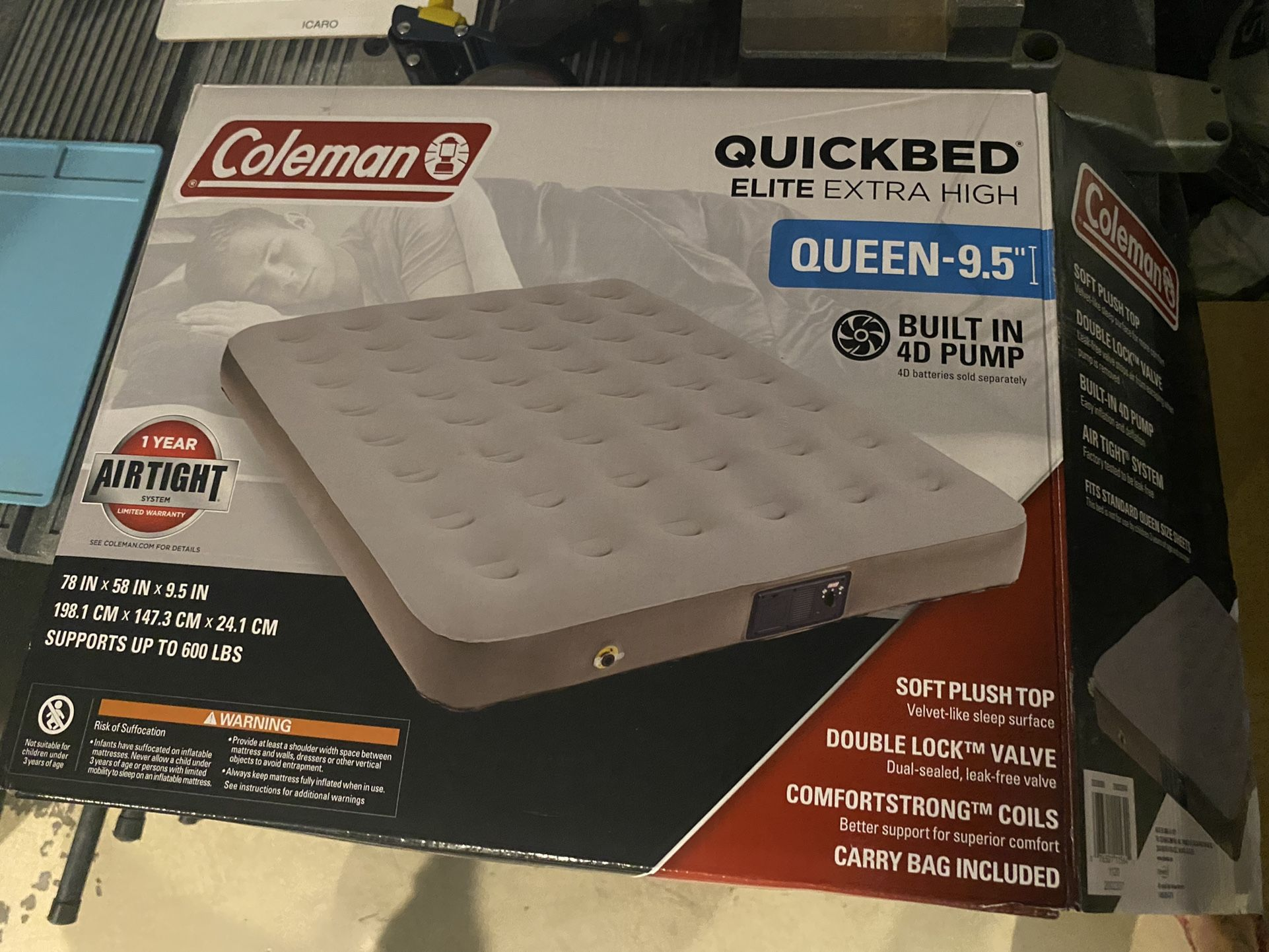 Coleman Quickbed Queen Air Mattress