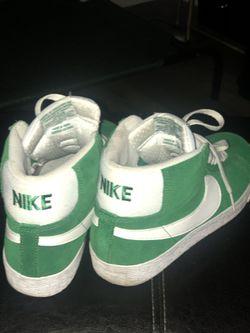 Nike Blazers SB Pine Green Thumbnail