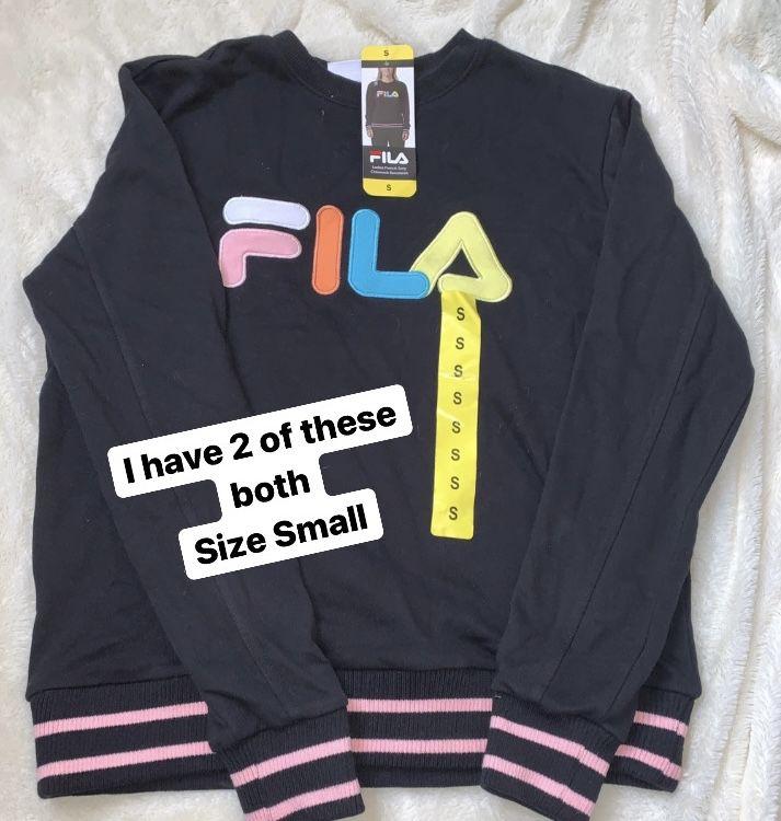 Champion,Fila, and Adidas